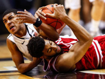 Christian Watford and the Hoosiers forced the Boilermakers into committing 18 turnovers (photo credit:http://www.theindychannel.com).