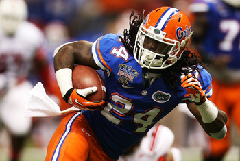 Matt Jones will likely be the feature back for the Gators.