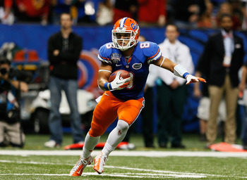 Burton has struggled since his promising first season in Gainesville.