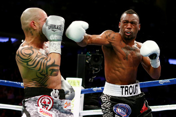Trout has beaten legitimate junior middleweights.