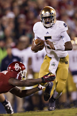 Can Everett Golson move to 2-0 against the Sooners?