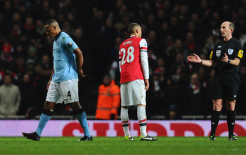 Seeing Kompany walk away from the action rather than toward it sounds alarm bells for City fans.