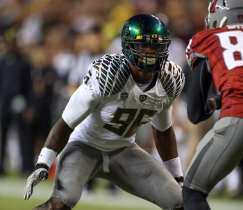Oregon DL/LB Dion Jordan