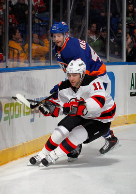 At 29 Stephen Gionta is hoping to play in his first full season.