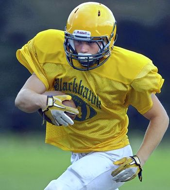 Running back Cole Chiappialle; Photo Credit to Pittsburgh Post-Gazette