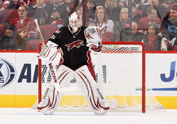 The Coyotes Chad Johnson has been a pleasant surprise this season filling in for Mike Smith