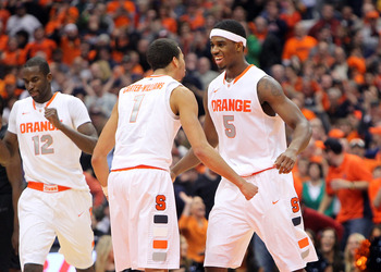 Syracuse is often mentioned as a possible Final Four team.