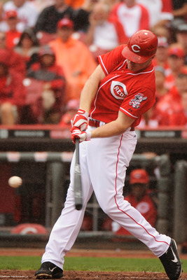 Jay Bruce's home run and RBI totals have increased every year since he debuted.