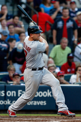 Left fielder Matt Holliday did a great job of taking control of the team when Albert Pujols left St. Louis last offseason.