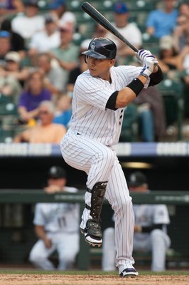 Carlos Gonzalez is a great hitter at Coors Field.