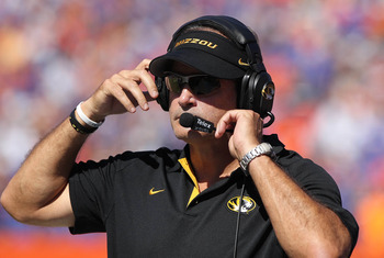 Missouri head coach Gary Pinkel