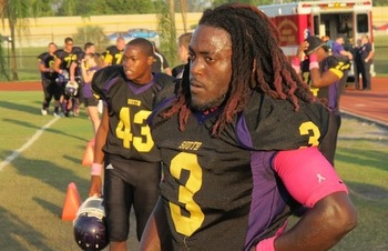 South Plantation (Ft. Lauderdale, Fla.) High School RB Alex Collins / Photo Credit: 247Sports.com