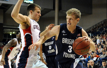 Tyler Haws, a dynamic scorer, was held to just one point against the Zags.