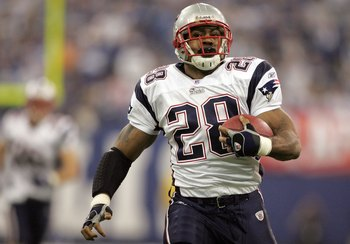 The Patriots haven't had a punishing ground game since Corey Dillon.