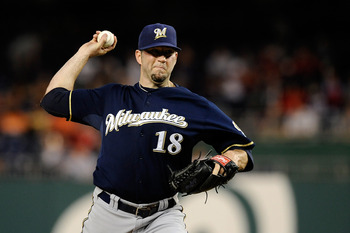Shaun Marcum was solid for the Brewers.