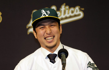 Nakajima must be the answer at shortstop in Oakland.