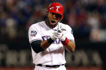 I still say the Rangers should have traded Elvis Andrus.