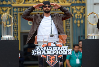 Angel Pagan and the Giants return largely intact to defend their World Series championship.