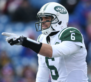 Who will challenge Mark Sanchez for the 2013 starting job?
