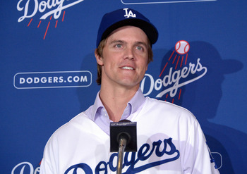 Greinke and Clayton Kershaw will co-lead the Dodgers rotation.