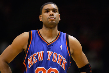 New York Knicks' Allan Houston