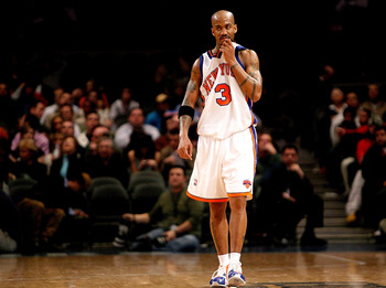 New York Knicks' Stephon Marbury