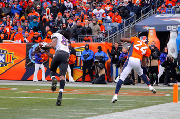 Torrey Smith taking Champ Bailey behind the woodshed.