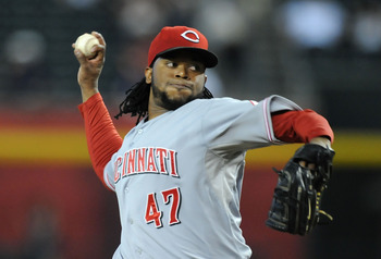 Johnny Cueto's low strikeout rates prevents him from reaching fantasy stardom.