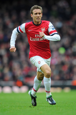 Nacho Monreal made his debut for Arsenal.