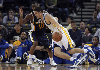 The Warriors perimeter should take advantage of the Jazz.