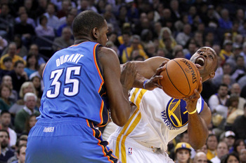 Durant and OKC have usually handled the Warriors.