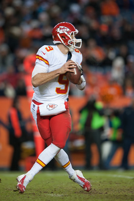 Brady Quinn failed to show he can be a starting quarterback in the NFL, so the Chiefs need to find a new passer in the draft.