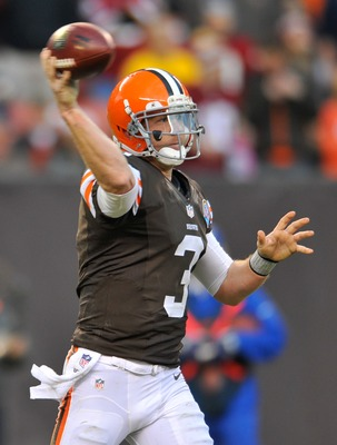 At age 30, Brandon Weeden isn't the future in Cleveland.