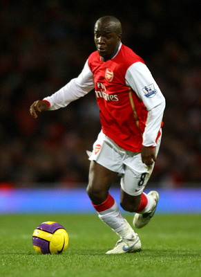 Lassana Diarra only played at Arsenal for five months.