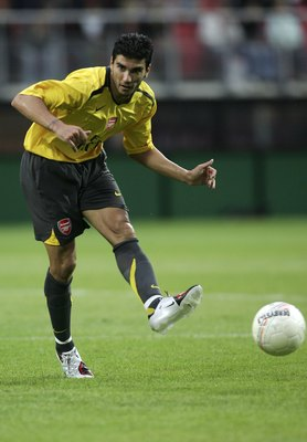 Jose Reyes never seemed content at Arsenal.