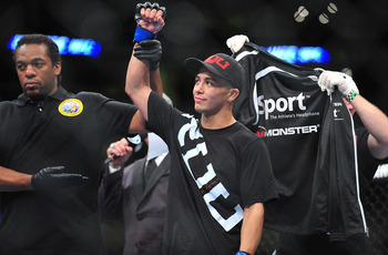 John Moraga may just be one fight away from a title shot.