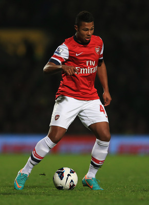 Serge Gnabry has already played in the Premier League.