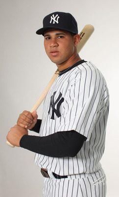 Gary Sanchez is one the Yankees top prospects.