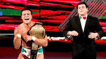 Alberto Del Rio maintains possession of his World Heavyweight Championship. (Courtesy of WWE.com)