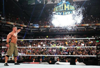John Cena wins the 2013 Royal Rumble. (Courtesy of WWE.com)