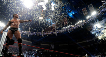 Randy Orton wins the 2009 Royal Rumble. (Courtesy of WWE.com)