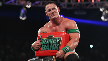 John Cena as Mr. Money in the Bank. (Courtesy of WWE.com)