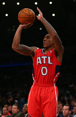 Jeff Teague continues to find his comfort zone in the offense.