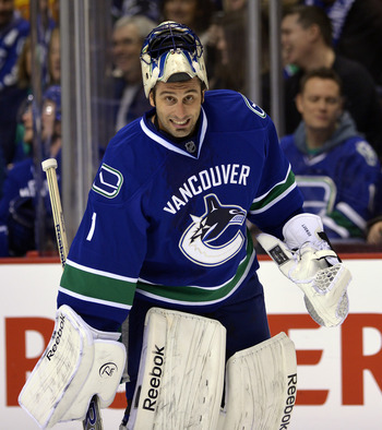 Roberto Luongo has been stellar since his return to Vancouver.