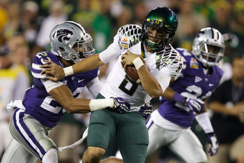 The Ducks went to Hawaii for Marcus Mariota.