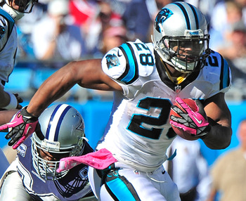 Former Duck Jonathan Stewart had a comic book made featuring himself.