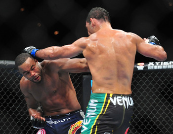 Nogueira won in most likely the worst fight of the year.