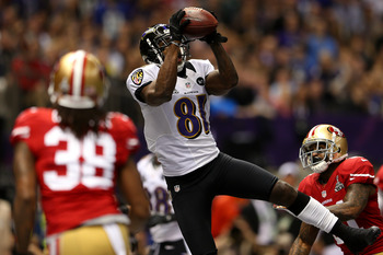 Anquan Boldin started off the scoring for Baltimore.