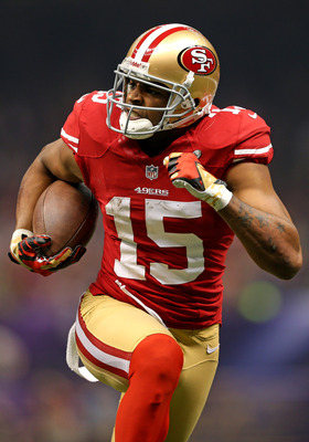 Michael Crabtree had over 100 yards receiving.