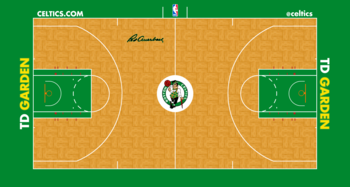 The Nba S 10 Coolest Courts Bleacher Report